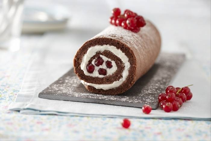 Photo of Chocolate rolled cake recipe