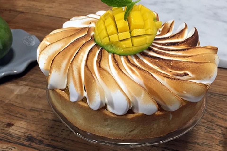 Photo of Foam Mango Cake