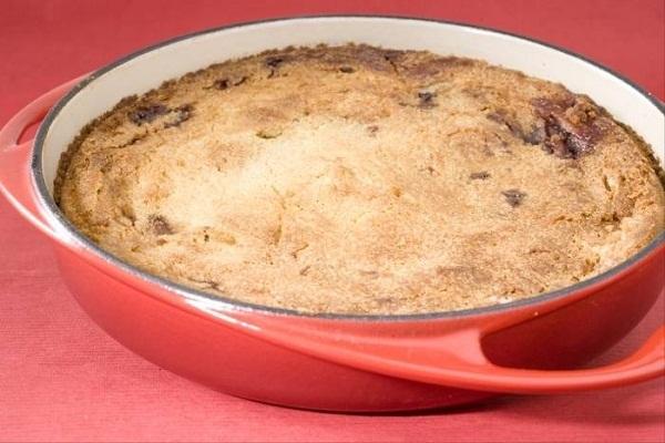 Photo of Basque Cake Recipe with Black Cherry Jam and Cream