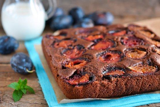 Photo of Plum cake with chocolate – recipe