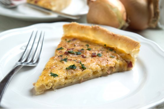 Photo of Onion Pie with Cheese – Recipe