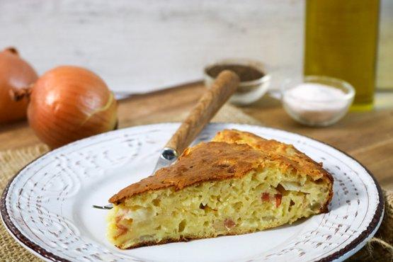 Photo of Bottomless onion pie – recipe