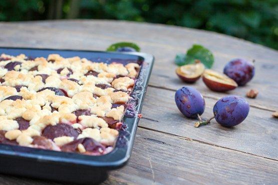 Photo of Plum streusel cake – recipe