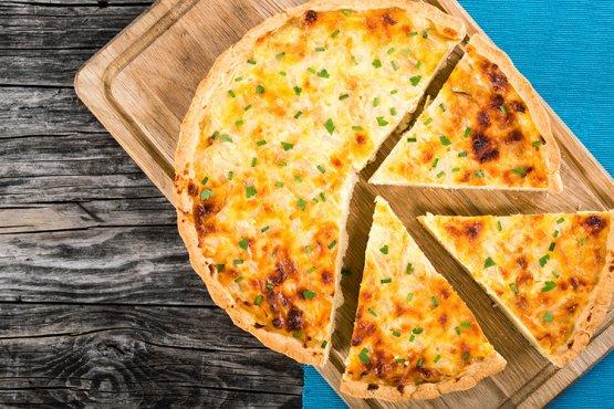 Photo of Vegetarian onion pie – recipe