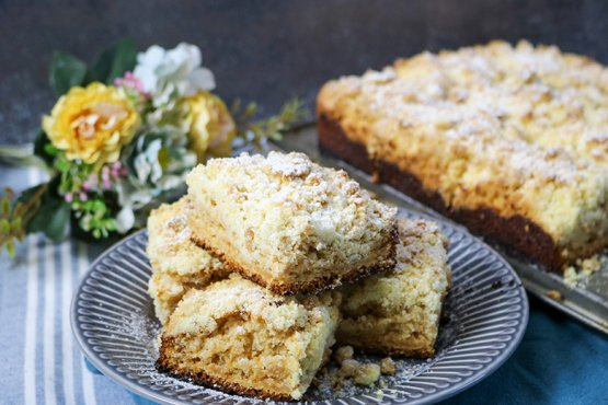 Photo of Crumble cake without egg – recipe
