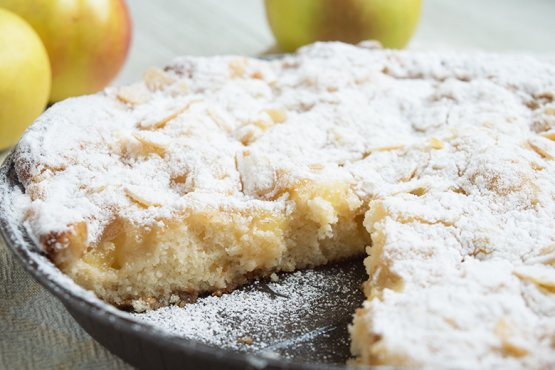 Photo of Crumble cake with apple – recipe