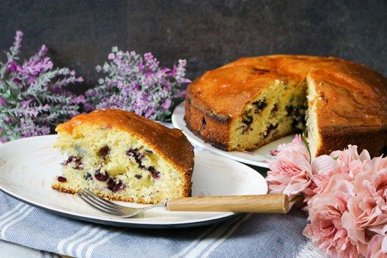 Photo of Quick blueberry pie – recipe