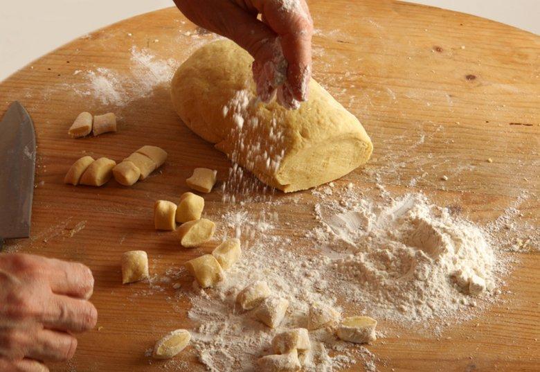 Basic recipe for gnocchi dough