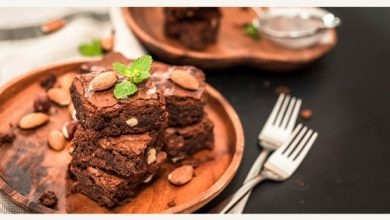 Photo of Chocolate Almond Brownies – Recipe