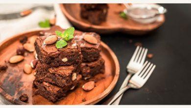 Photo of Chocolate Almond Brownies – Recipe