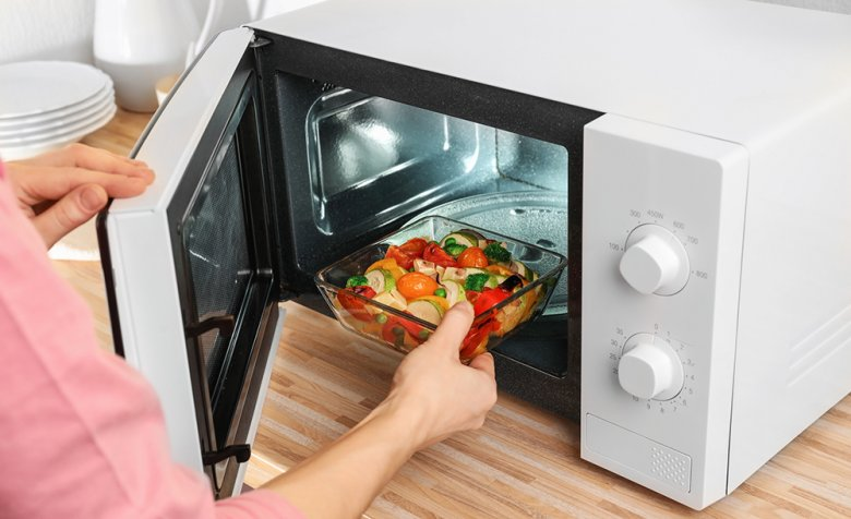 Vegetables in particular can be cooked perfectly in the microwave.