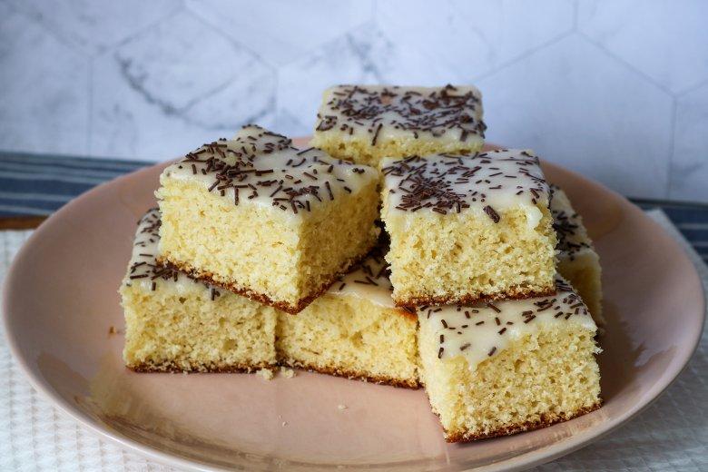 Fizzy cake