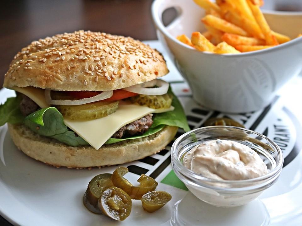 Photo of The perfect hamburger buns