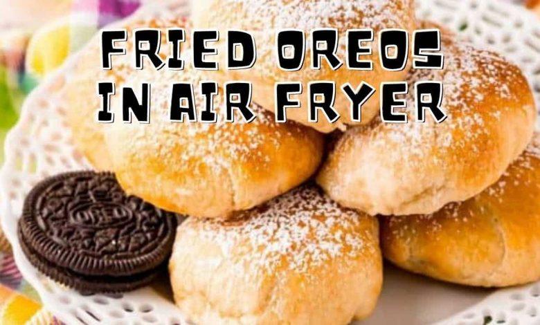 fried oreos in air fryer